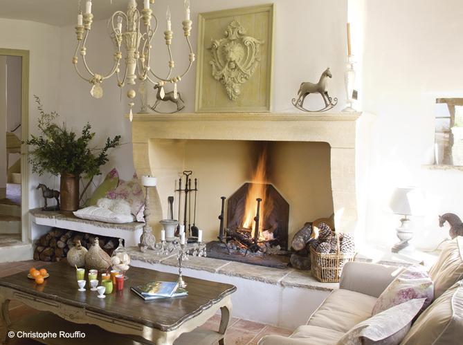 salon ultra contemporain nos plus belles chemin es elle d coration - Cheminee Contemporain Villa Marocaine