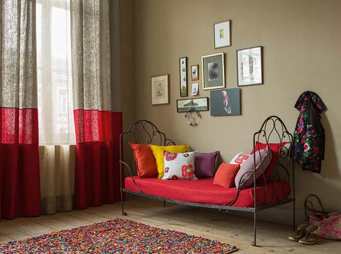Un petit salon chaleureux elle d coration - Salon chaleureux ...