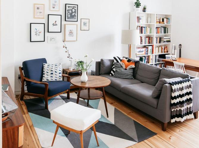 les plus beaux salons rep r s sur pinterest elle d coration. Black Bedroom Furniture Sets. Home Design Ideas