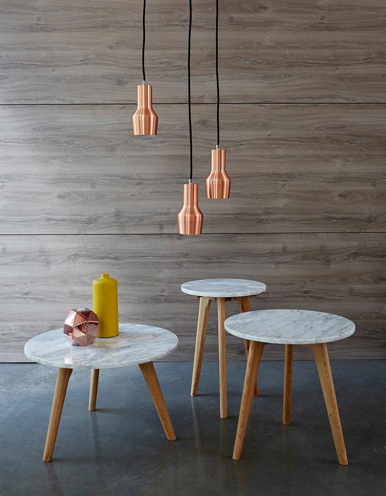 La table basse en marbre un classique chic qu on adopte au salon elle d coration - Modele table basse ...
