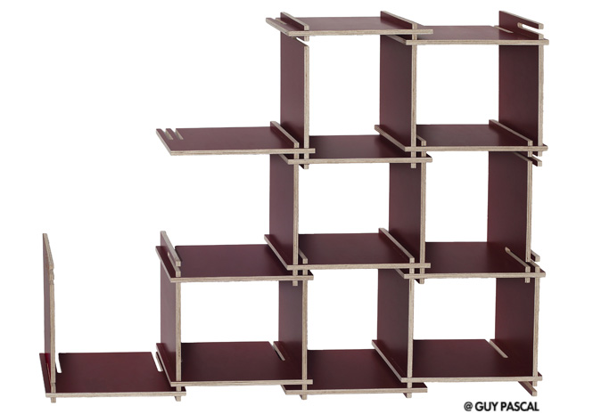de belles tag res sur les murs elle d coration. Black Bedroom Furniture Sets. Home Design Ideas