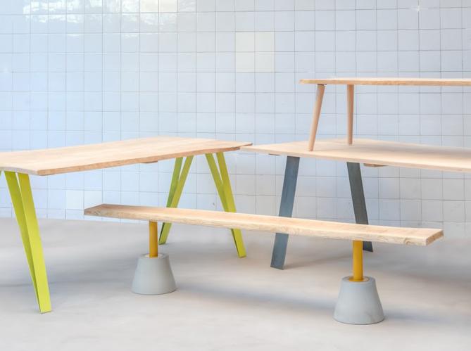l 39 objet d co du jour le concept 39 des pieds sous ma table. Black Bedroom Furniture Sets. Home Design Ideas