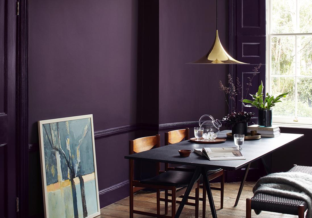 le violet une couleur has been ou oser en d co elle d coration. Black Bedroom Furniture Sets. Home Design Ideas