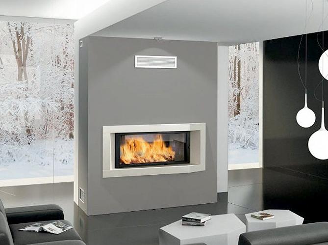 Pour ou contre la chemin e gaz elle d coration for Decoration hotte de cheminee