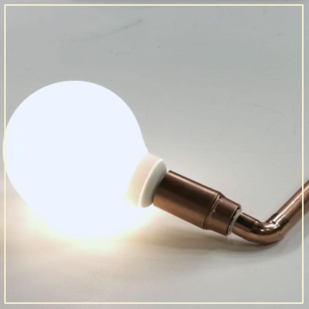 notre diy d co pour fabriquer une lampe en cuivre elle. Black Bedroom Furniture Sets. Home Design Ideas