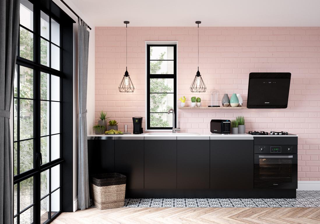 Mur color nos inspirations pour un int rieur haut en couleur elle d coration for Cuisine en rose