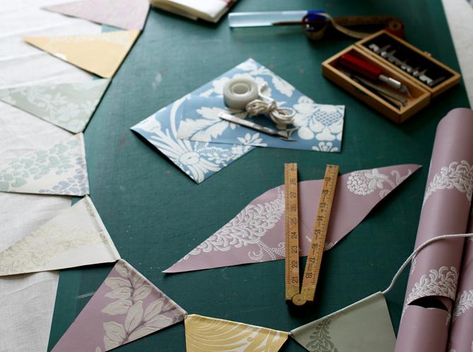 20 id es bluffantes pour recycler ses chutes de papier peint elle d coration - Creer son papier peint ...