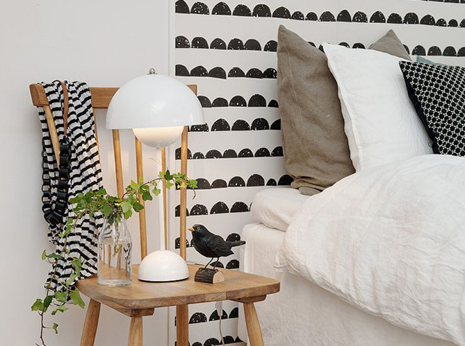 20 id es bluffantes pour recycler ses chutes de papier peint elle d coration. Black Bedroom Furniture Sets. Home Design Ideas