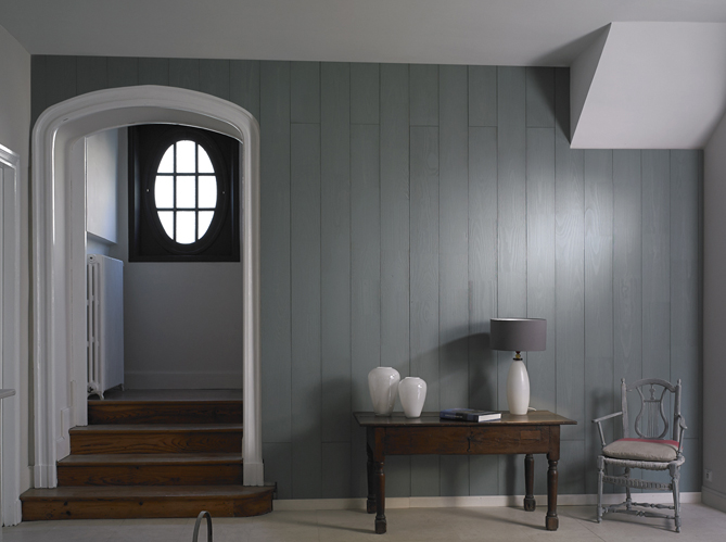 10 inspirations qui vont vous faire changer d 39 avis sur le lambris elle d coration. Black Bedroom Furniture Sets. Home Design Ideas