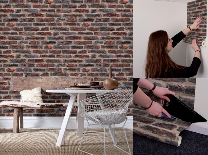un papier peint pour les nuls elle d coration. Black Bedroom Furniture Sets. Home Design Ideas