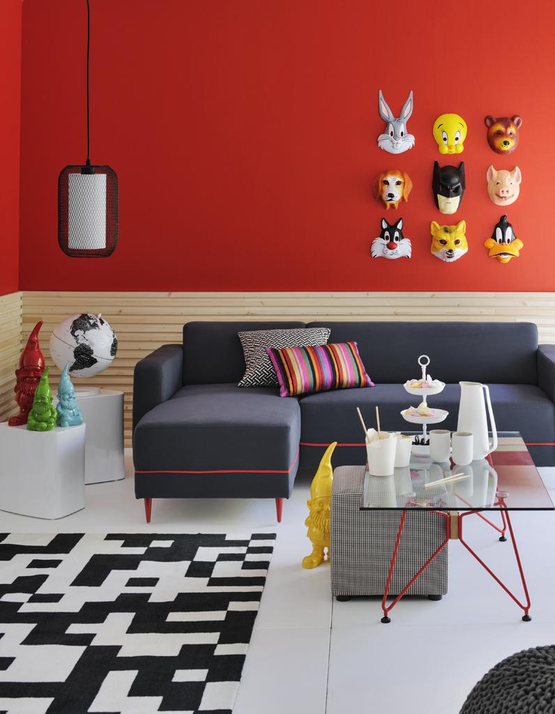 Conseils peinture chambre deux couleurs conseil couleur de peinture domicile farrow u0026 ball for Peindre un salon en deux couleurs