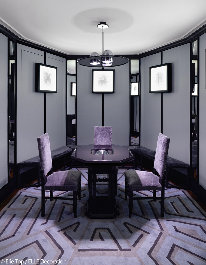mariage de couleur avec le gris. Black Bedroom Furniture Sets. Home Design Ideas