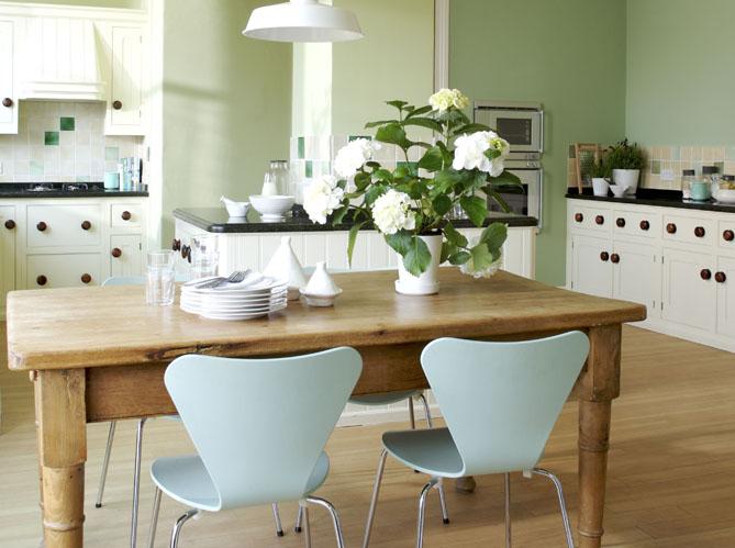 couleur peinture vert pastel avec des id es int ressantes pour la conception de. Black Bedroom Furniture Sets. Home Design Ideas