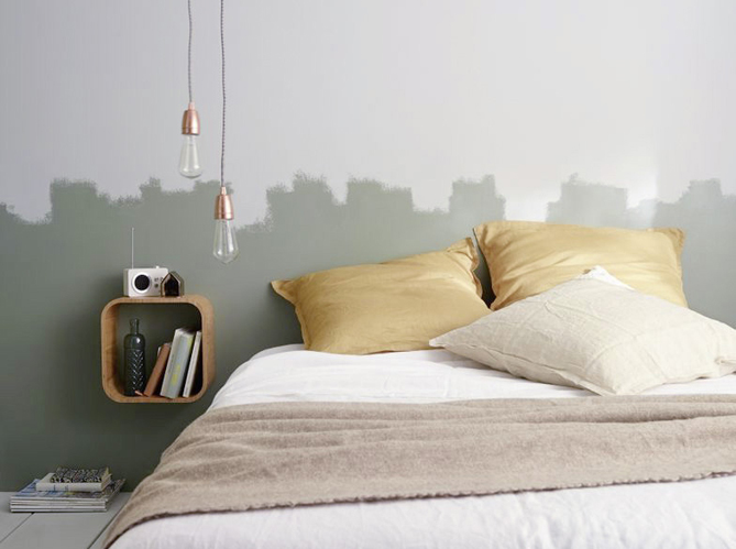 peinture 15 id es pour personnaliser son int rieur. Black Bedroom Furniture Sets. Home Design Ideas
