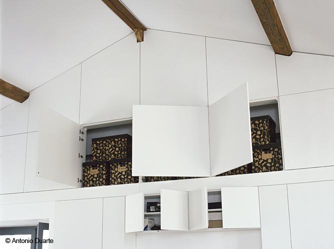 meuble comble sur mesure. Black Bedroom Furniture Sets. Home Design Ideas