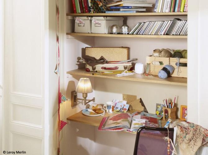 Poser une tag re rien de plus simple elle d coration - Comment fixer une etagere ...