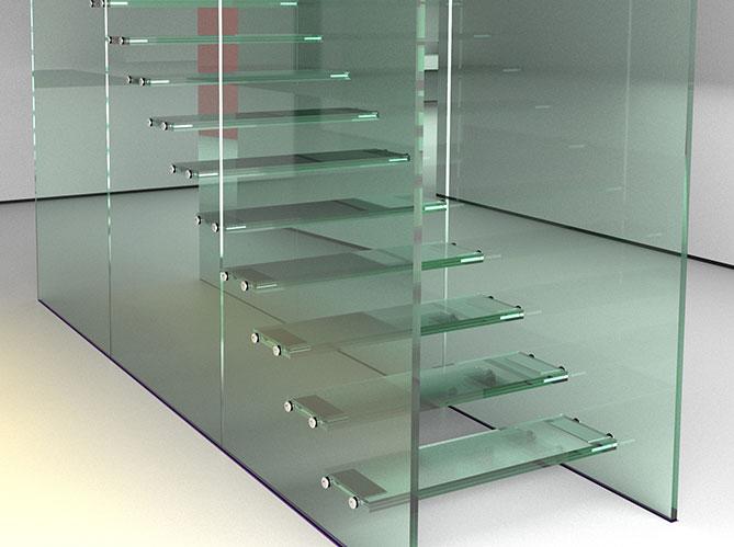 Cloisons et d cors en verre elle d coration - Le verre maison ...
