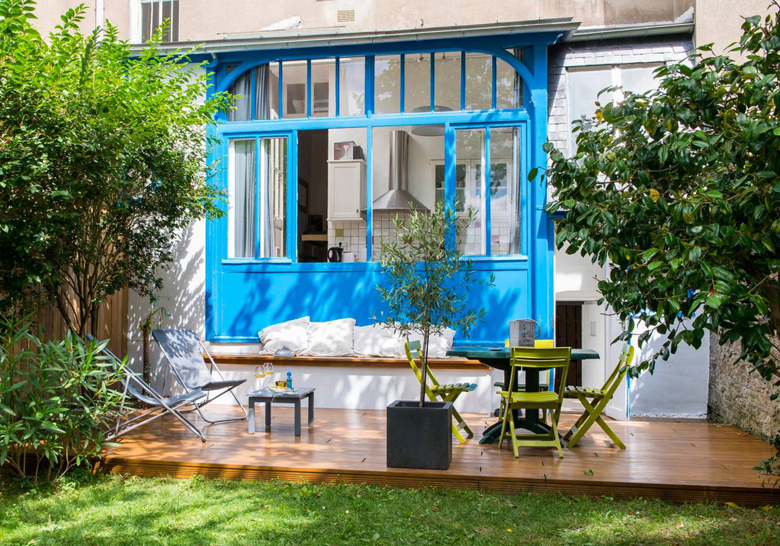 Airbnb nantes 20 appartements maisons et lofts de r ve for Location appartement avec jardin bordeaux