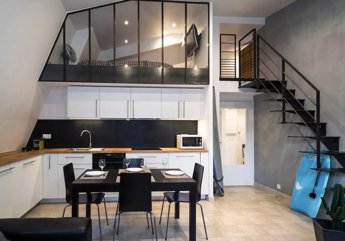 Airbnb saint malo 25 appartements maisons et lofts de for Appartement type loft