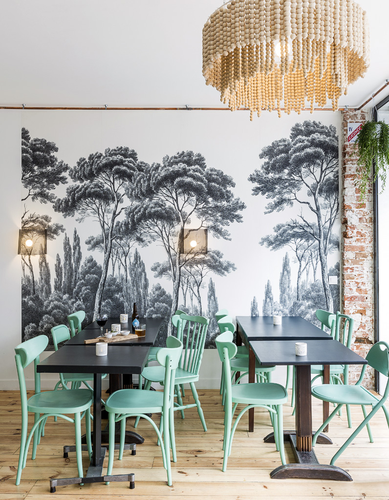 Paris 12 adresses design qui vont r galer les gourmands for A la maison bistro