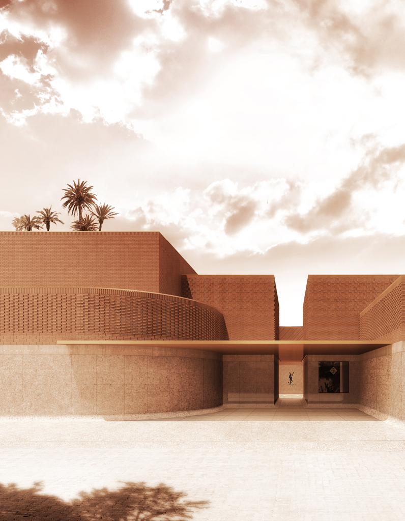 d couvrez le nouveau mus e yves saint laurent marrakech. Black Bedroom Furniture Sets. Home Design Ideas