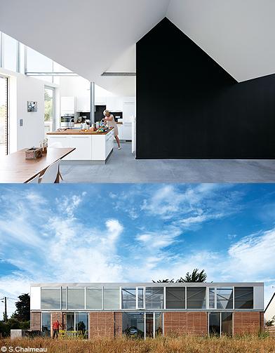 10 maisons d architectes qui font r ver elle d coration - Maison architecte design futuriste silvestre ...