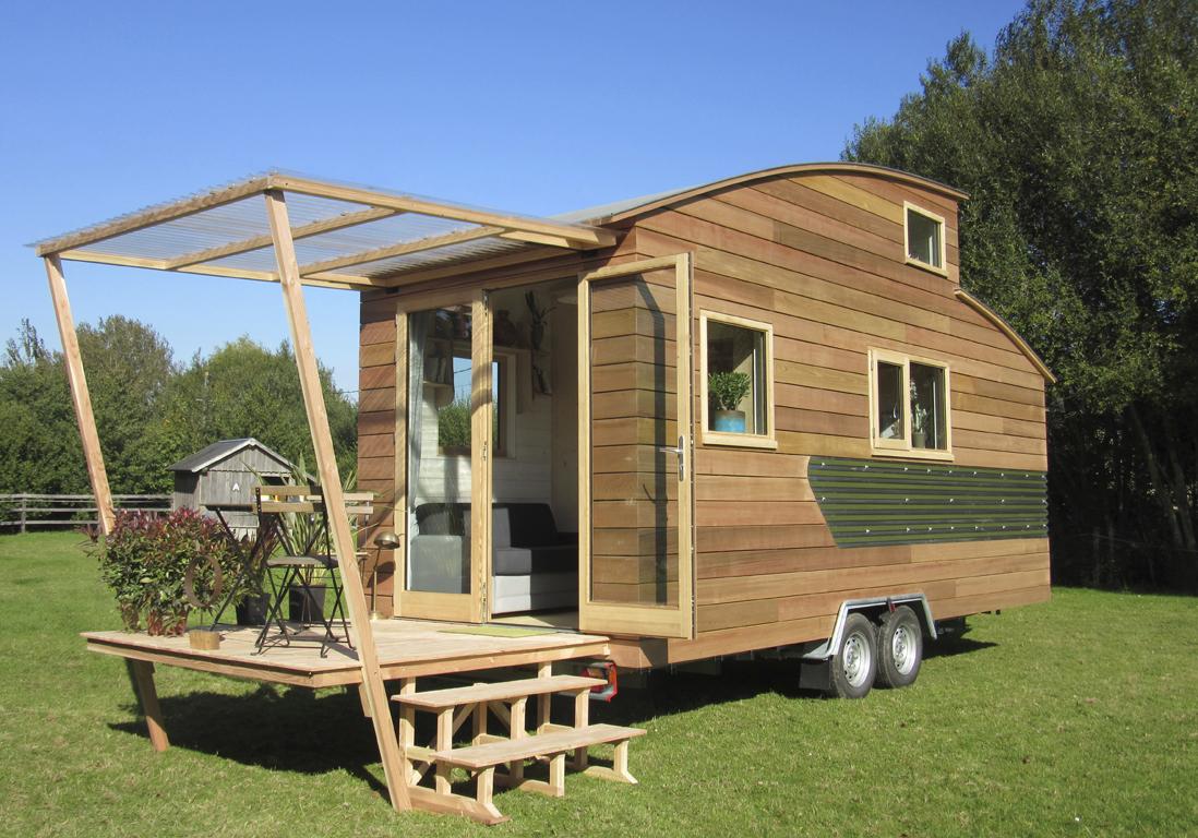 Cabane dans les arbres ou cabane sur roulette dormir for Site pour deco maison