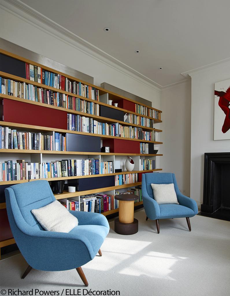 entre luxe et ann es 50 poussez les portes de cette somptueuse maison londonienne elle d coration. Black Bedroom Furniture Sets. Home Design Ideas