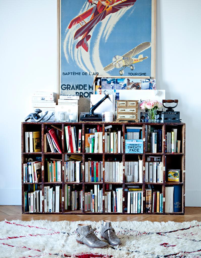 L univers vintage de morgane s zalory elle d coration - Vieux meubles restaures ...