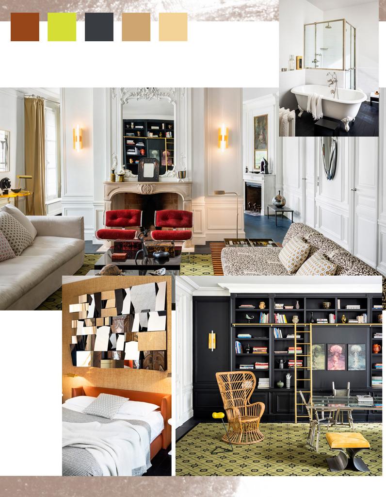 Préférence Le coup de bluff d'un appartement haussmannien - Elle Décoration IT54