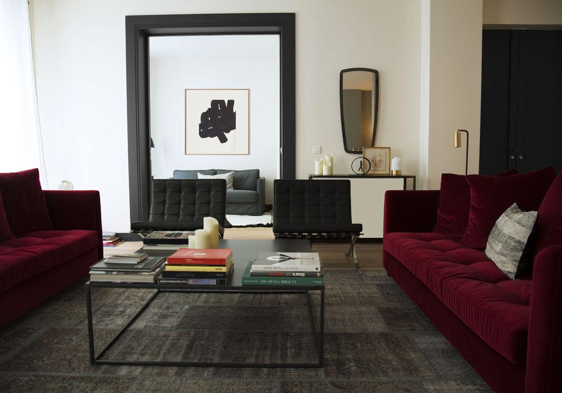 Un appartement chic parisien r nov r novations d for Deco appartement chic
