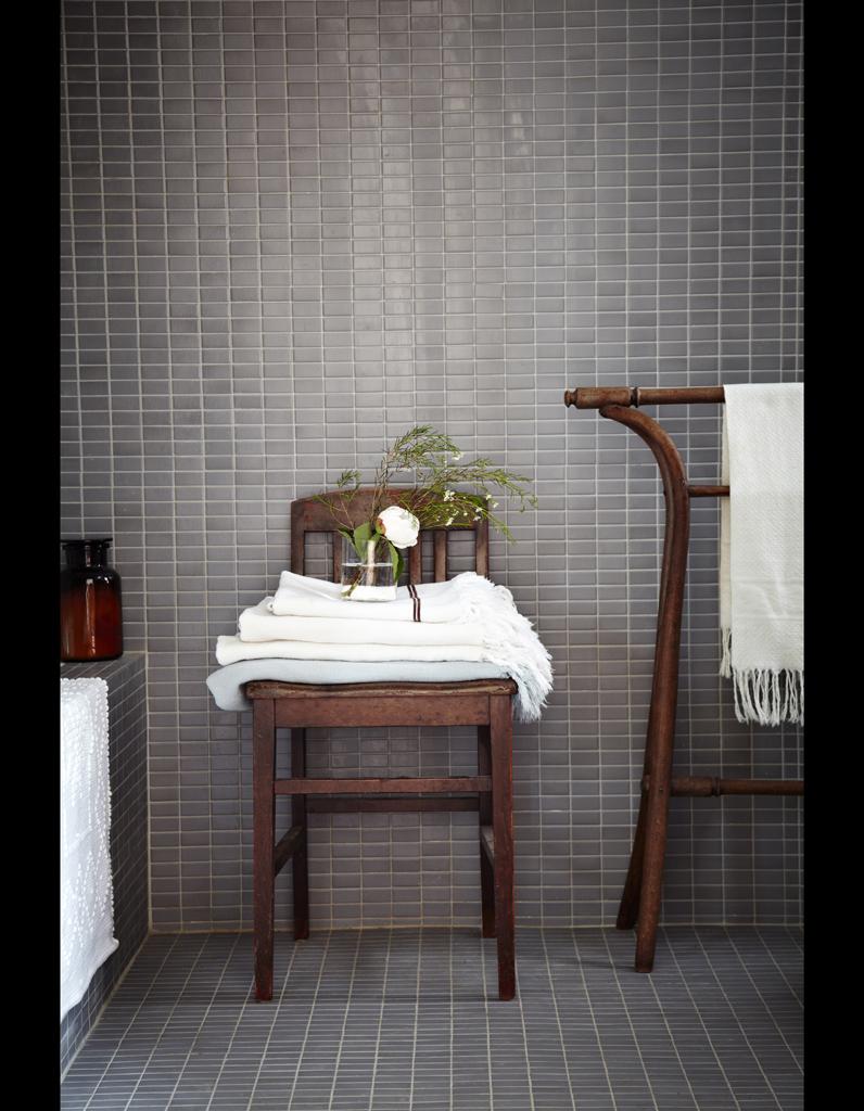 Ambiance salle de bain retro - Salle de bain retro chic ...