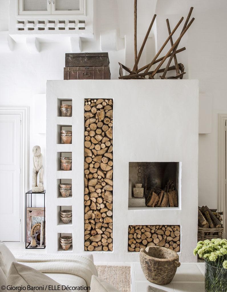 Une maison de r ve 100 blanche elle d coration for Elle decoration maison