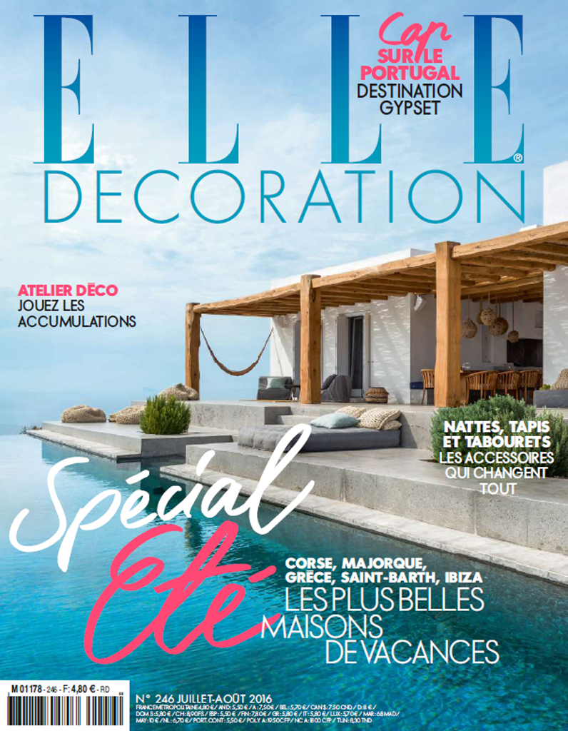 Une villa de r ve saint barth elle d coration - Maison decoration magazine ...