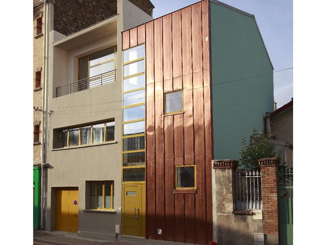 Visite d 39 un loft d 39 architecte 100 colo elle d coration for Photo maison loft