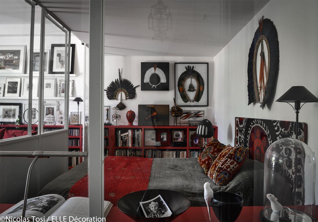 un loft de charme pr s de paris elle d coration. Black Bedroom Furniture Sets. Home Design Ideas