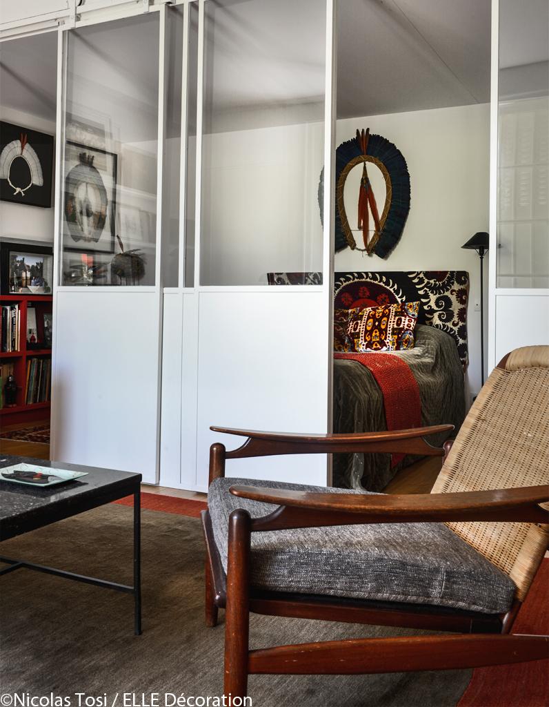 Un loft de charme près de Paris - Elle Décoration
