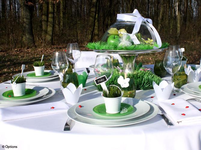 15 id es d co pour un joli centre de table de mariage - Idee deco centre de table ...