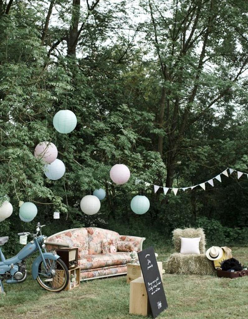 Petit Jardin Idee Inspirer Pour Decoration Mariage Champetre ...