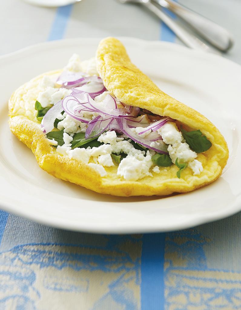 omelette minceur comment faire une omelette all g e elle table. Black Bedroom Furniture Sets. Home Design Ideas