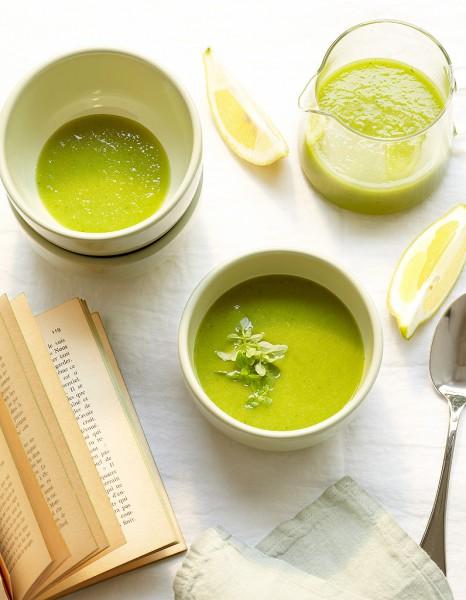 Recette minceur rapide velout glac de tomates vertes - Cuisine minceur rapide ...