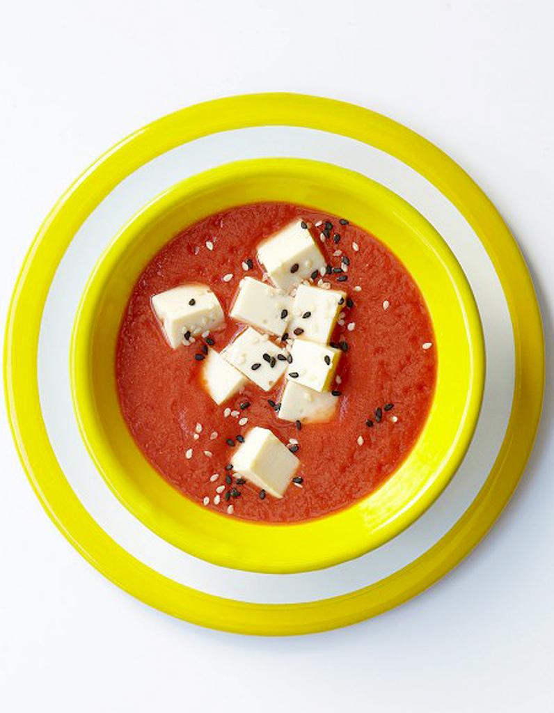 Soupes froides : recettes de cuisine Soupes froides - Elle ...
