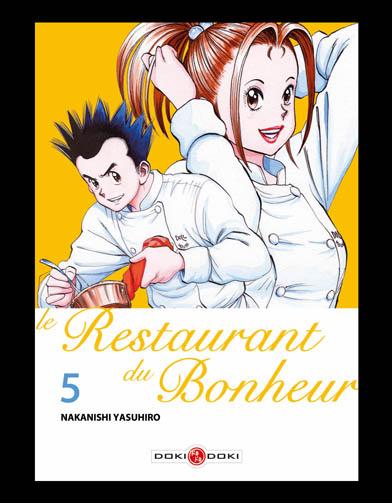 Le restaurant du bonheur manga volume 5 12 mangas - Haut bonheur de la table cassel ...