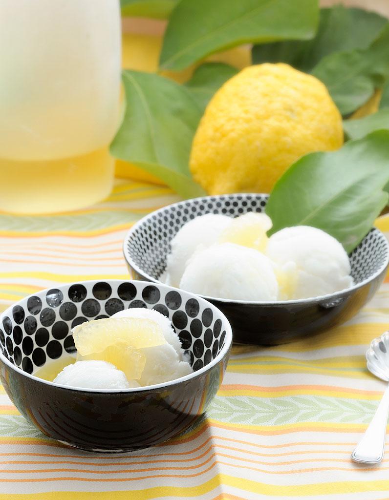 dessert l ger semifreddo au citron 15 desserts l gers. Black Bedroom Furniture Sets. Home Design Ideas