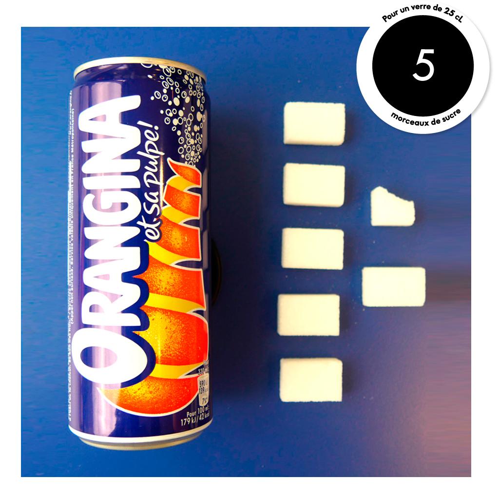 Orangina combien de morceaux de sucre dans nos boissons pr f r es elle table - 1 are combien de m2 ...