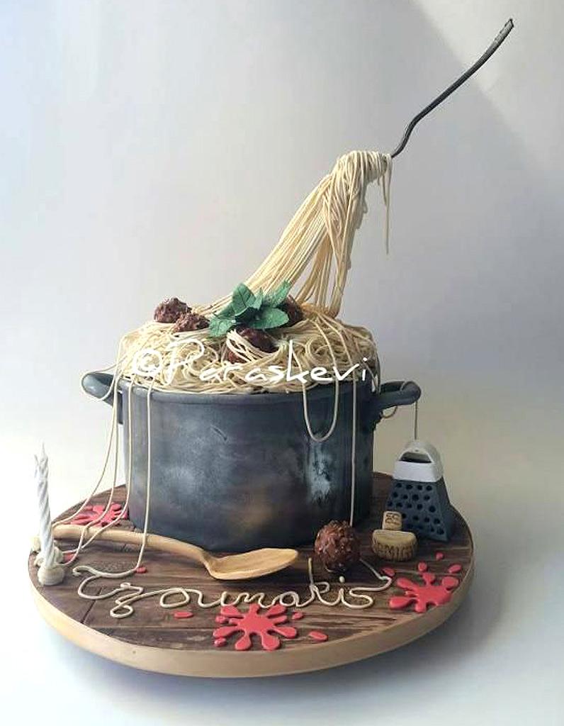 Gravity cake plat de p tes 20 gravity cake tomber elle table - Gravity cake noel ...