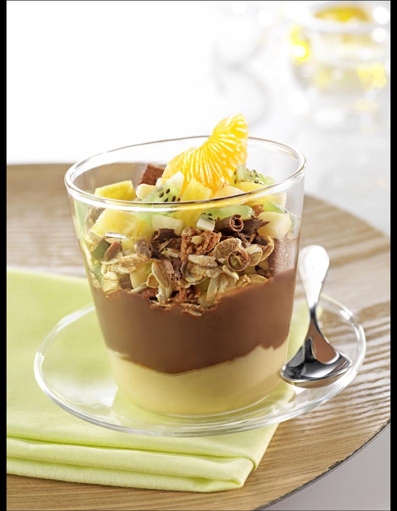 Verrine gourmande au soja bjorg les essentiels bio du for Soja cuisine bjorg