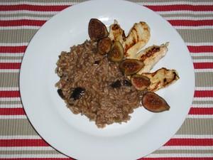 risotto au poulet et aux figues pour 6 personnes recettes elle table. Black Bedroom Furniture Sets. Home Design Ideas