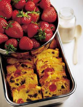 Recette Facile Enfants Cake Fruits Confits