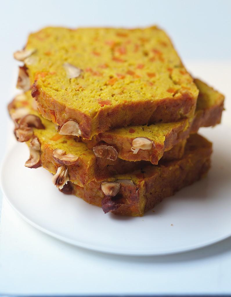 Cake Lentilles Corail Carottes